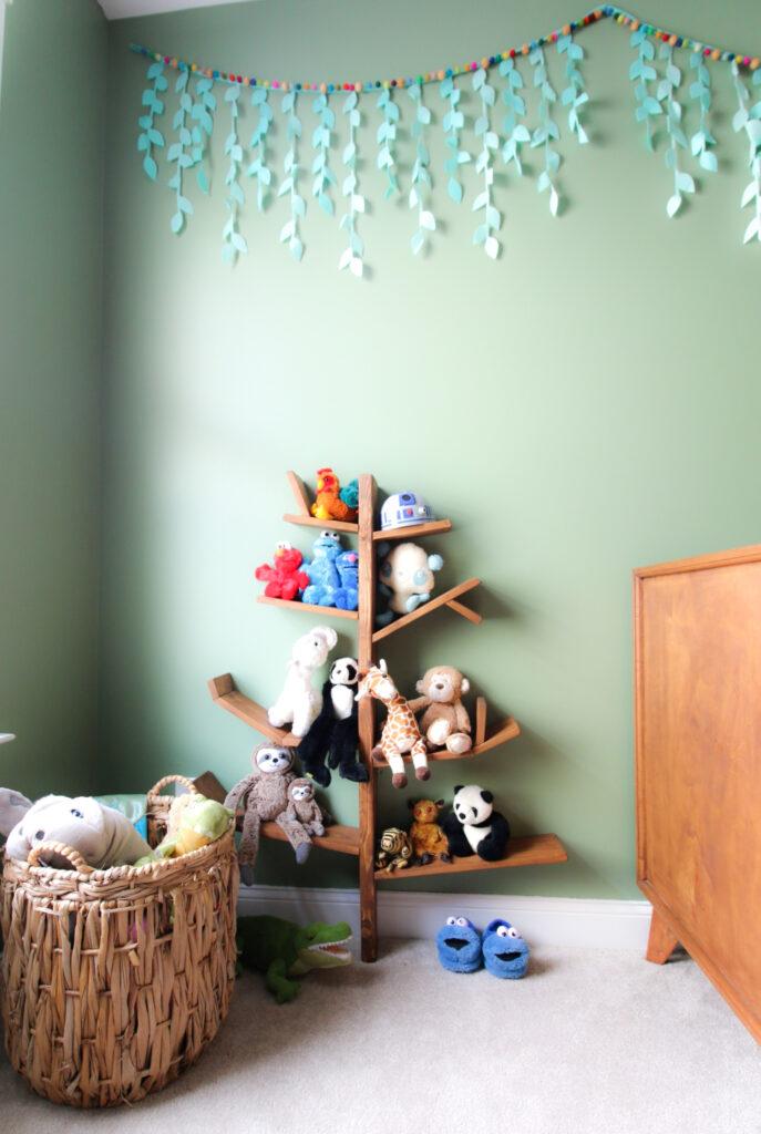 tree shaped toy shelf