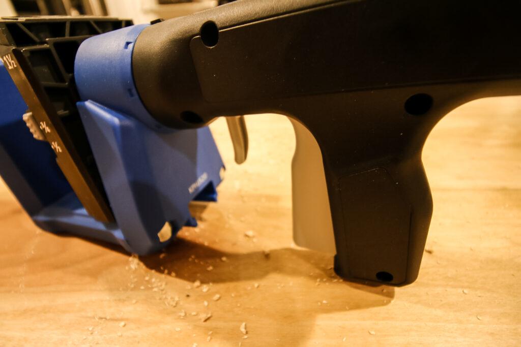 Kreg 520 Pro squeeze clamp