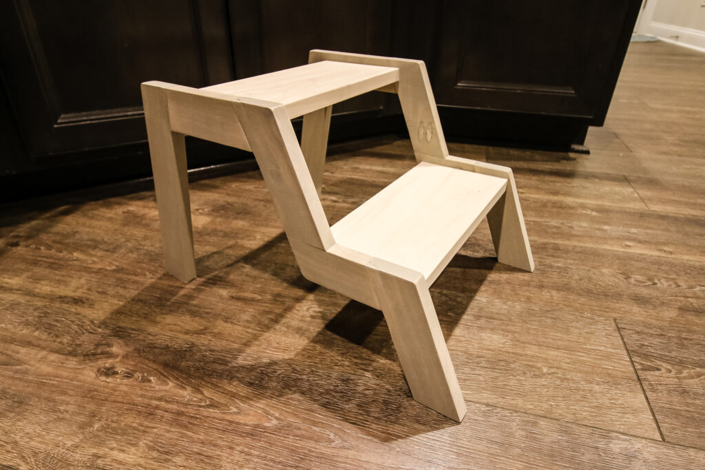 How to build a modern step stool - Charleston Crafted