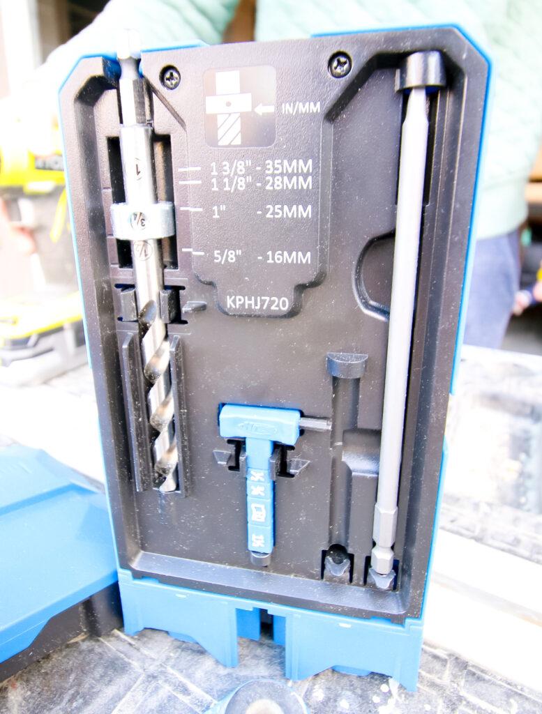 Storage system on Kreg 720 Pro