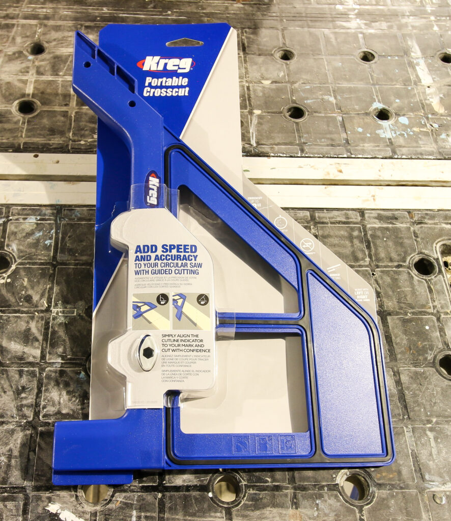 Kreg Portable Crosscut in packaging