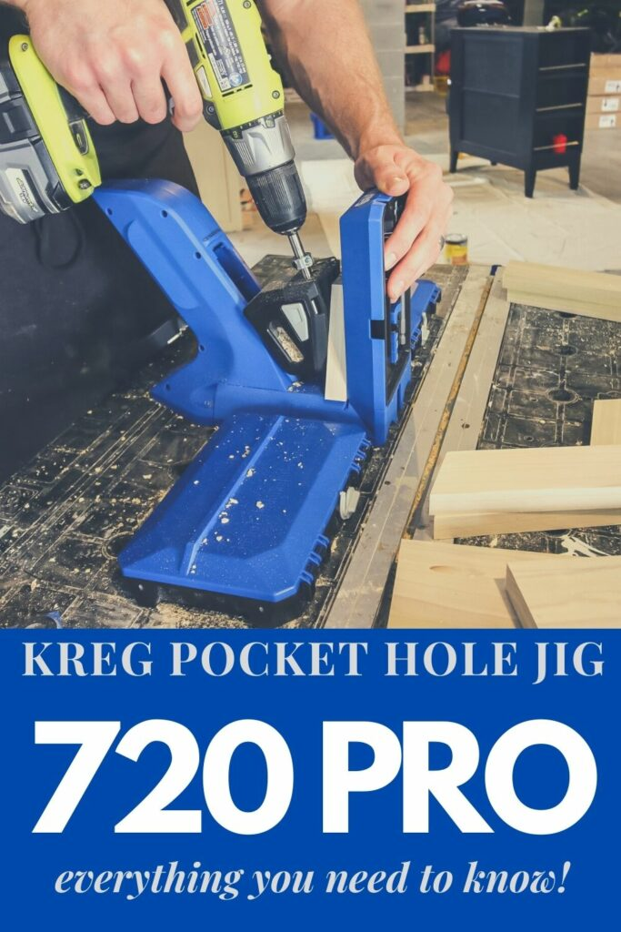Kreg Pocket Hole Jig 720 pro