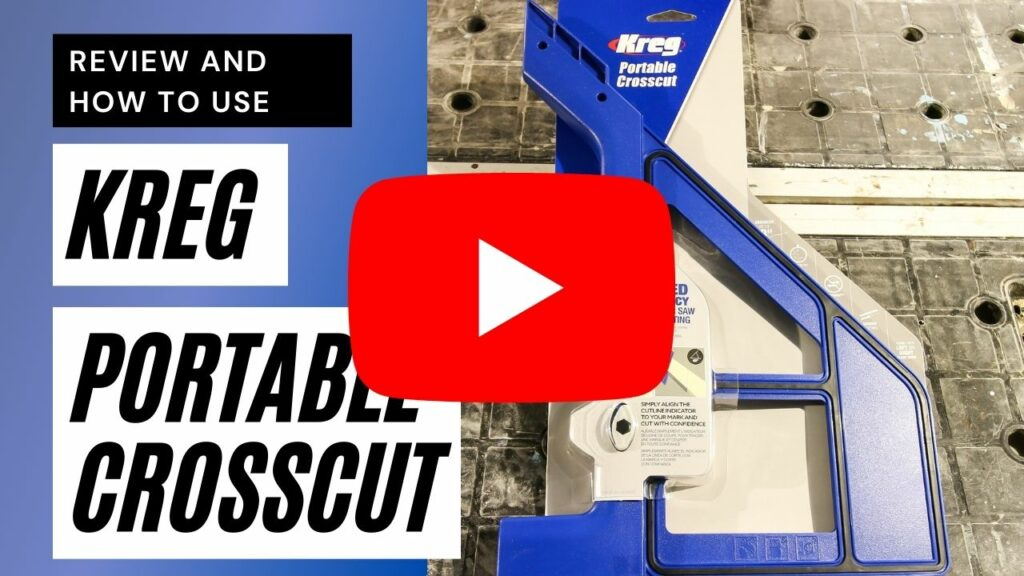 Kreg Portable Crosscut youtube thumbnail
