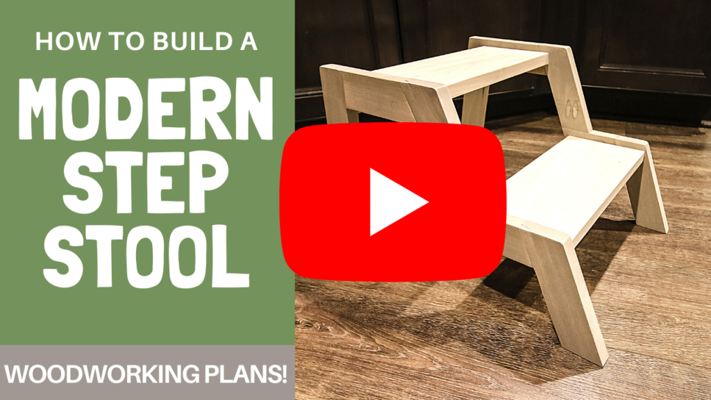 Video link for modern step stool