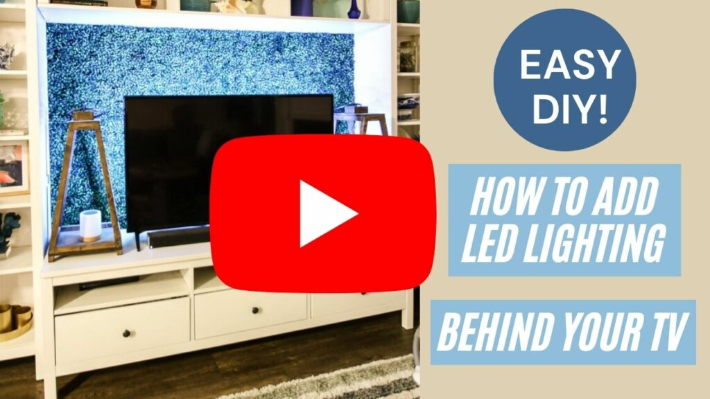 how to add lighting behind tv thumbnail blog