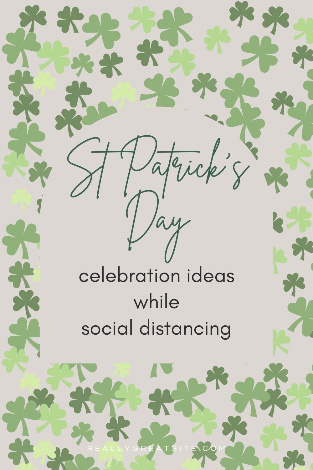 how to celebrate st patrick's day while social distancing