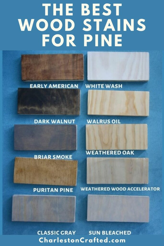 the best wood stains for pine