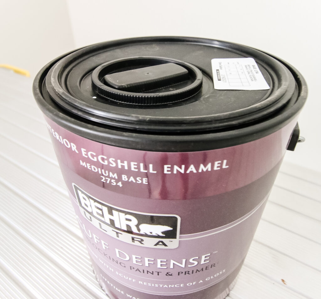 behr paint can with a pour safe lid