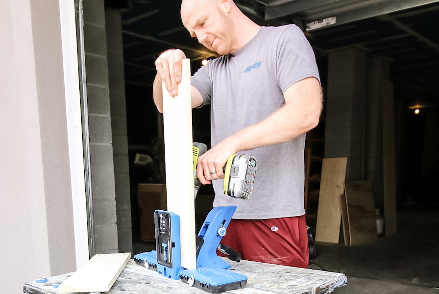 Drilling holes with Kreg 720 Pro