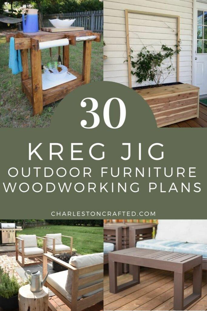 30 kreg jig outdoor furniture project ideas
