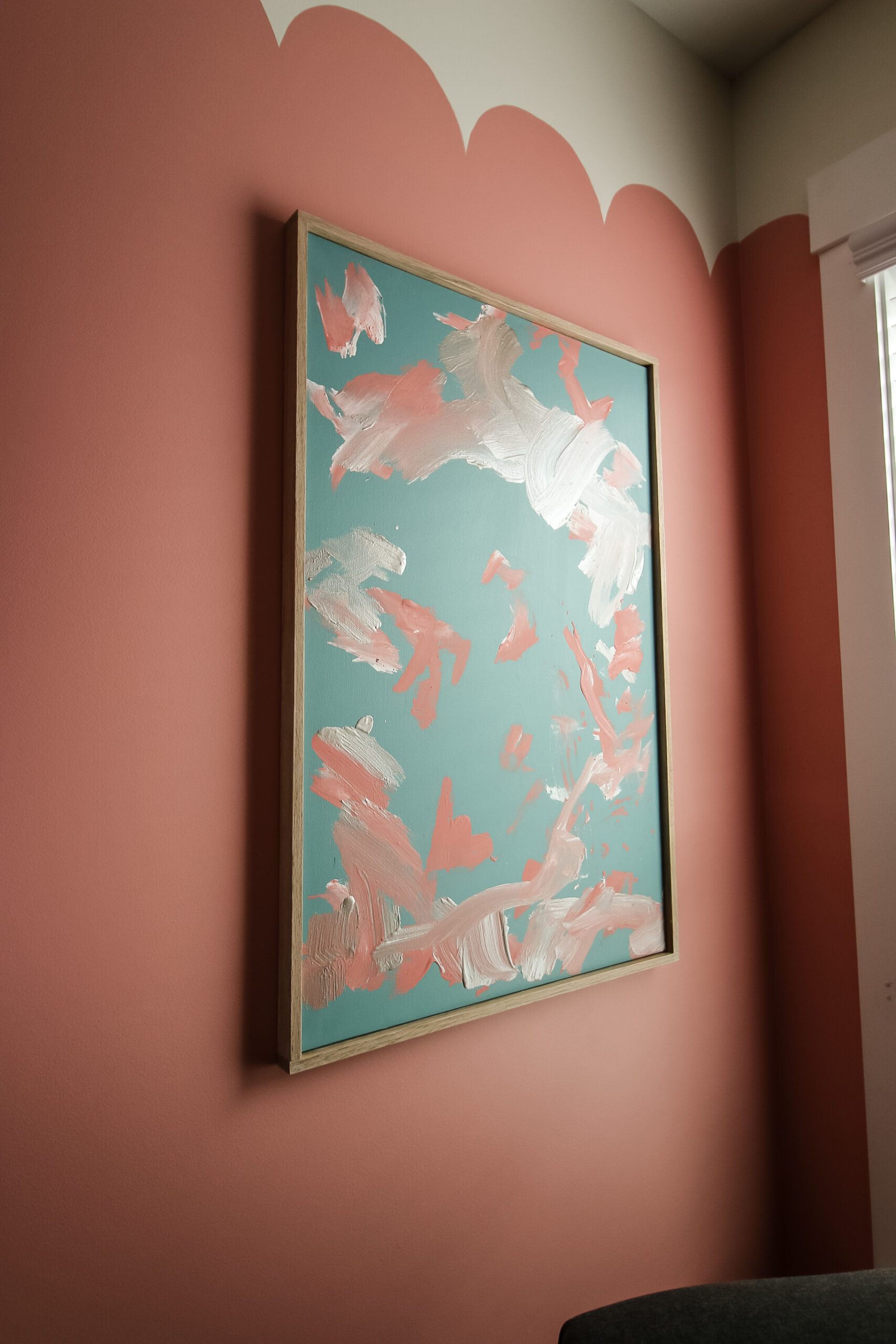 How to frame a canvas - Charleston Crafted