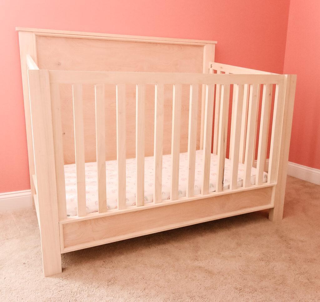 DIY traditional style crib - Charleston Crafted