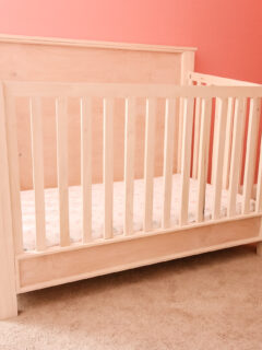 DIY traditional style crib - Charleston Crafted