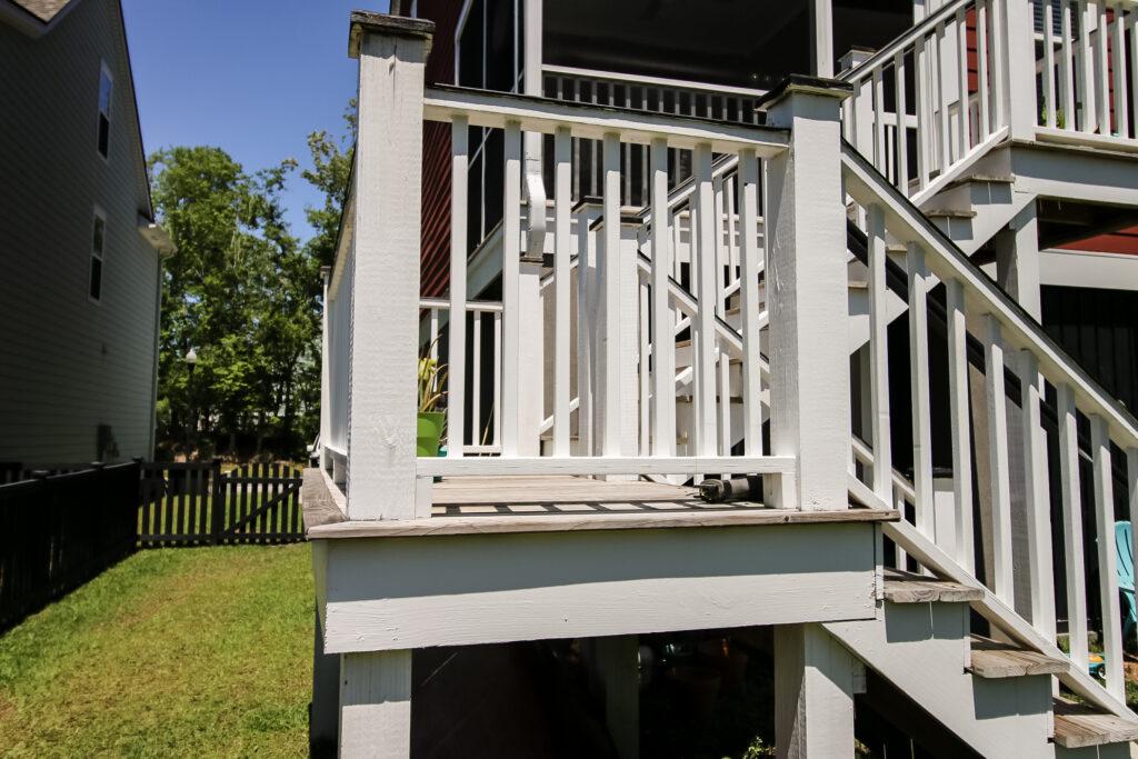 Slide deck before attaching slide