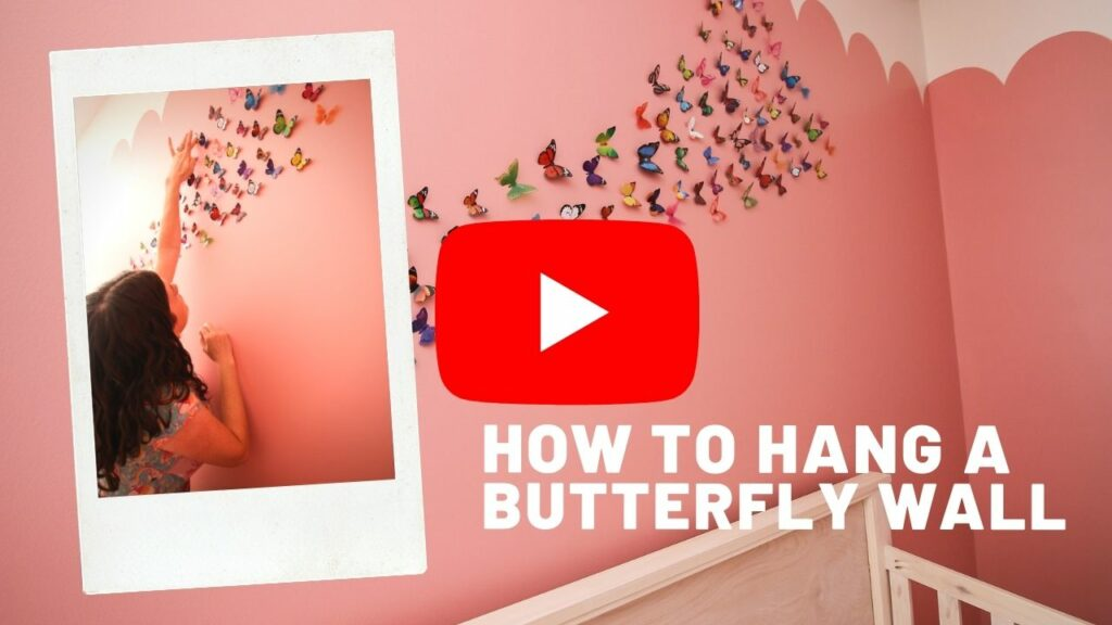 butterfly wall YouTube Thumbnail blog