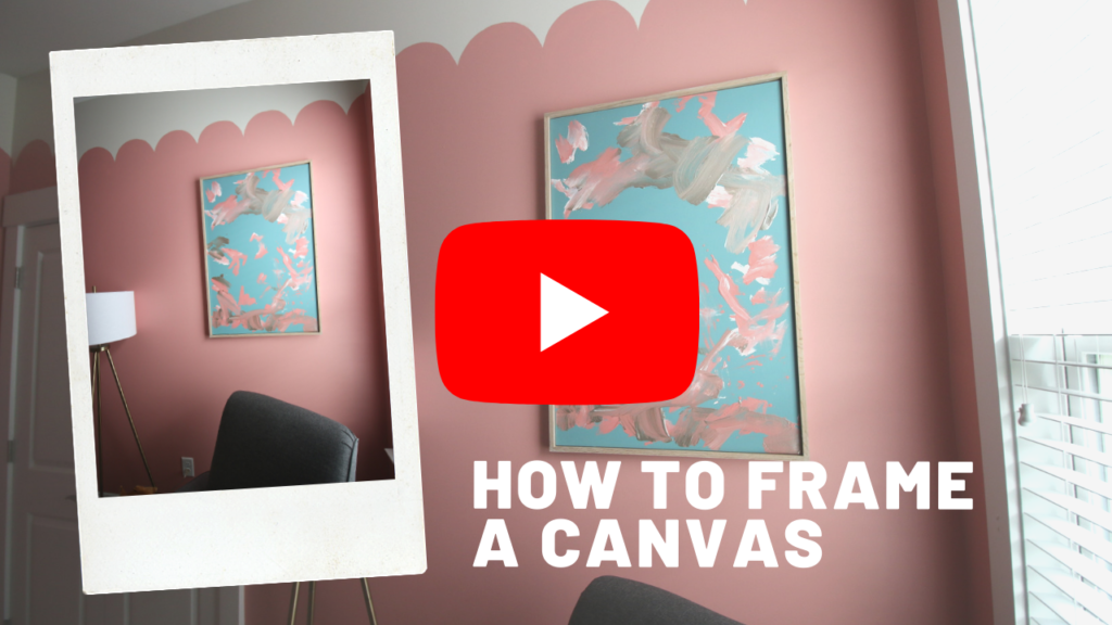 How to frame a canvas video link
