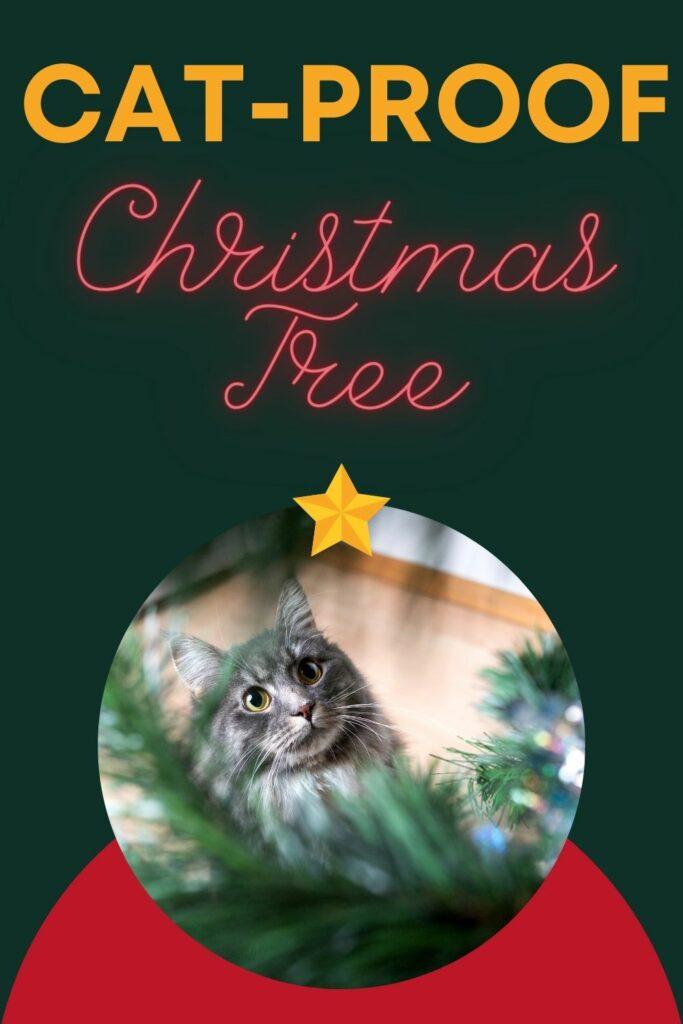 cat proof christmas tree ideas