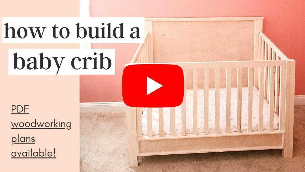 how to build a crib YouTube Thumbnail blog