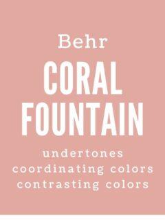 Behr Coral Fountain