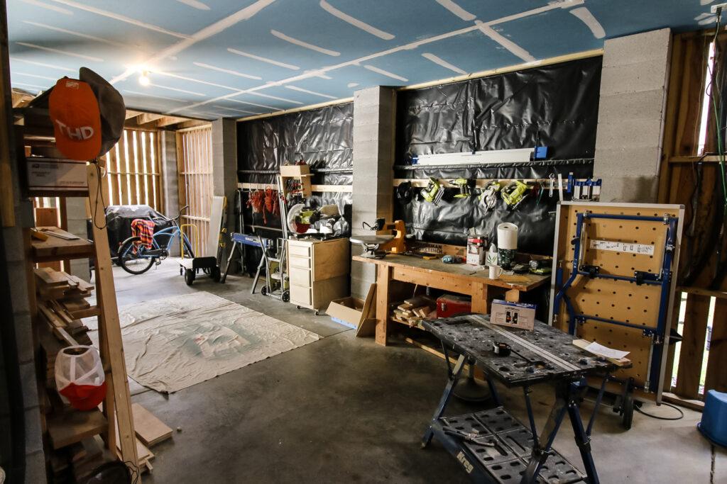 Workshop Before Photo - Charleston Crafted