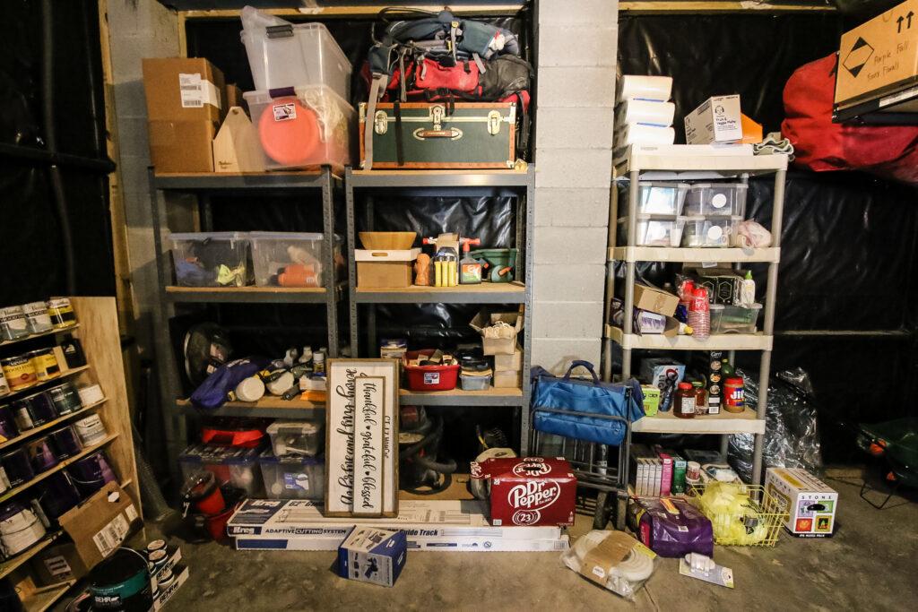 Garage Storage Before Photos - Charleston Crafted