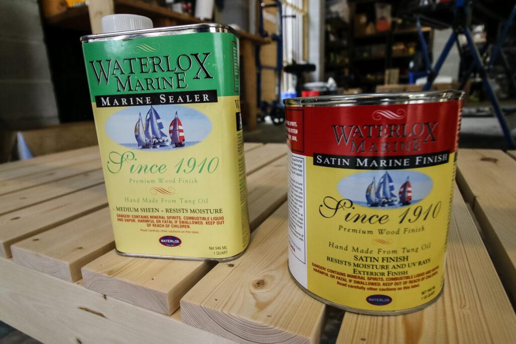 Waterlox Marine Sealer and Marine Finish