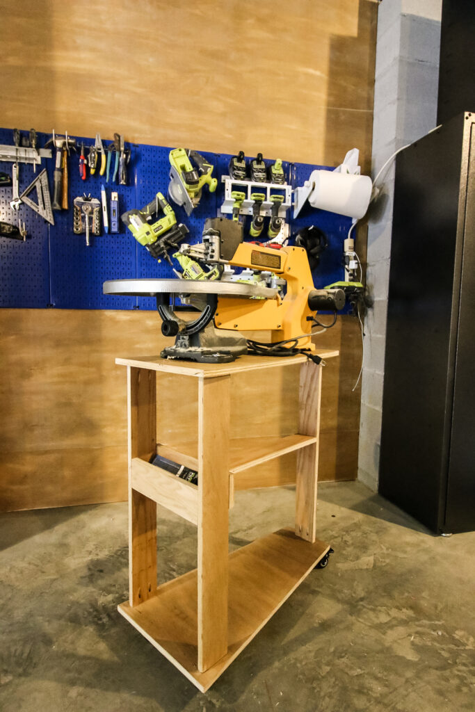 DIY scroll saw stand with FREE plans - Charleston Crafted