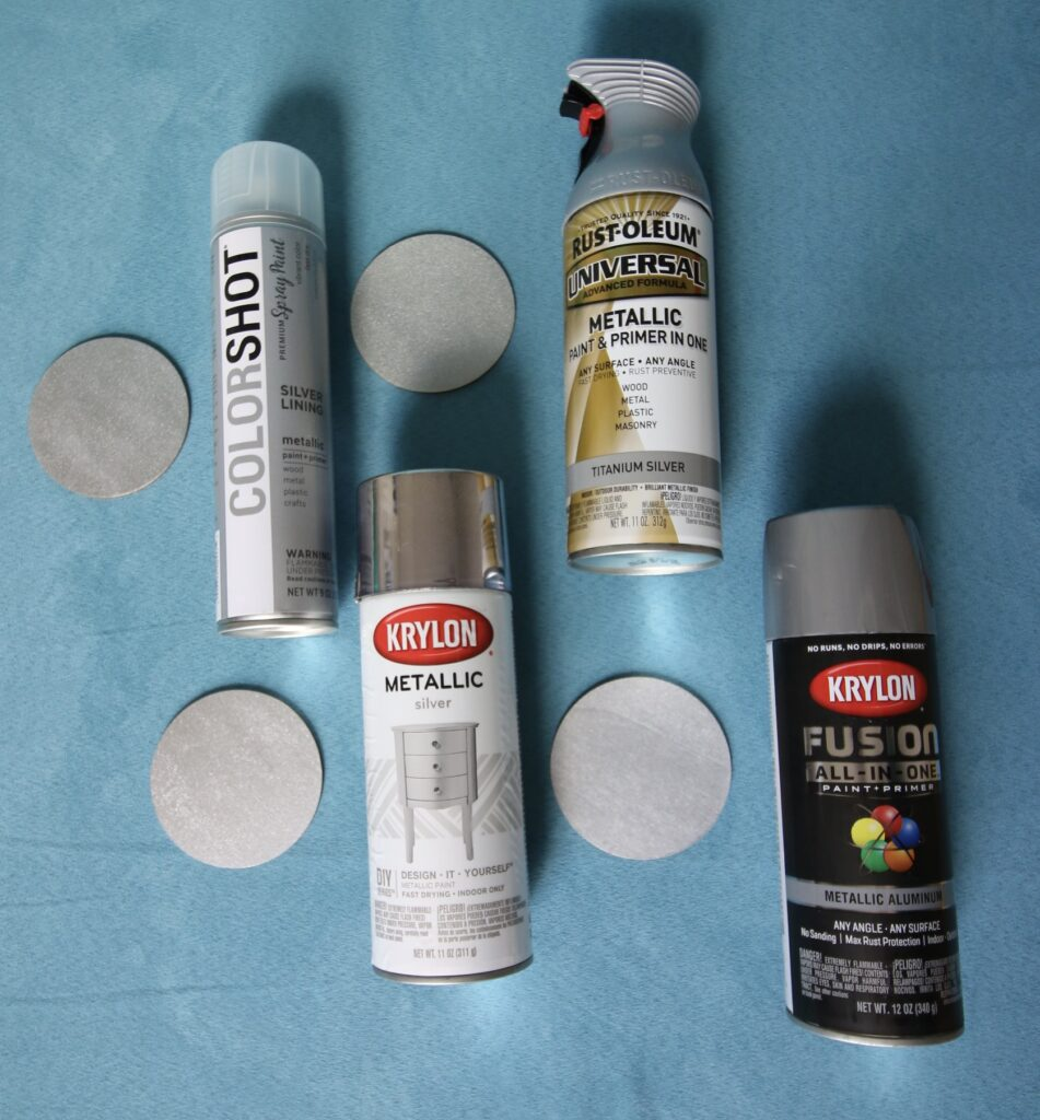 the best silver spray paint