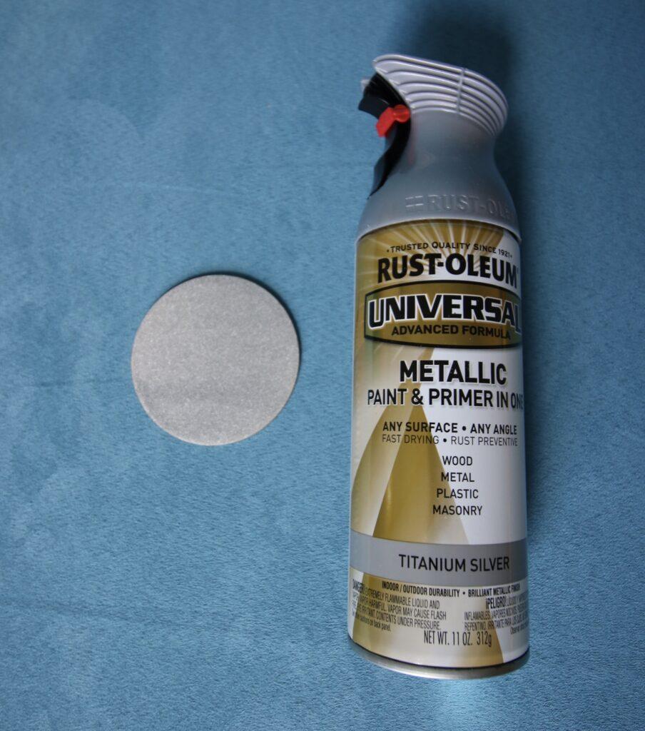 Rustoleum Metallic Titanium Silver