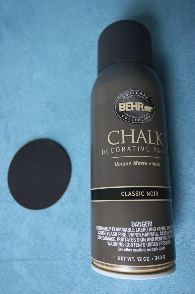 Behr Chalk Classic Noir