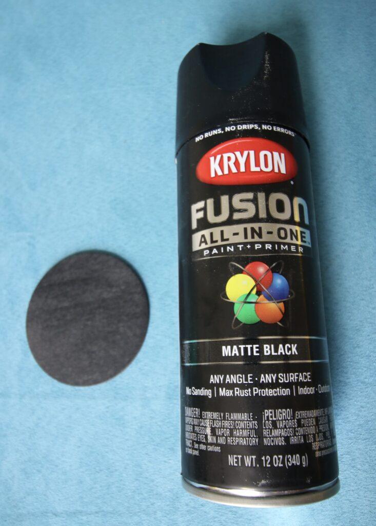 Krylon Fusion Matte Black