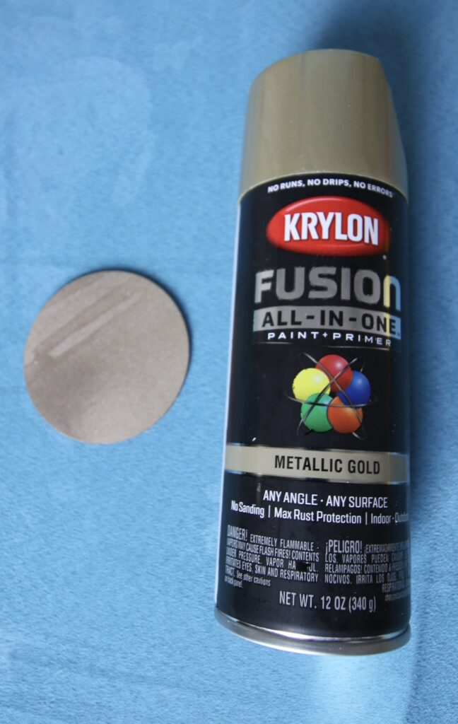 Krylon Fusion Metallic Gold