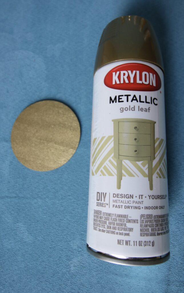Krylon Metallic Gold Leaf