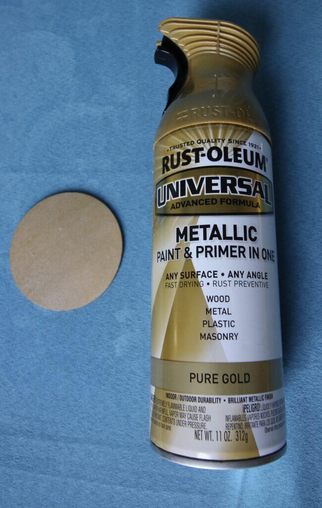 Rustoleum Metallic Pure Gold