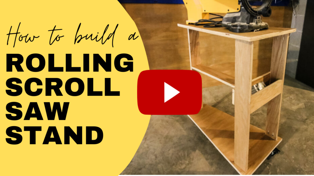DIY Rolling Scroll Saw Stand YouTube Link