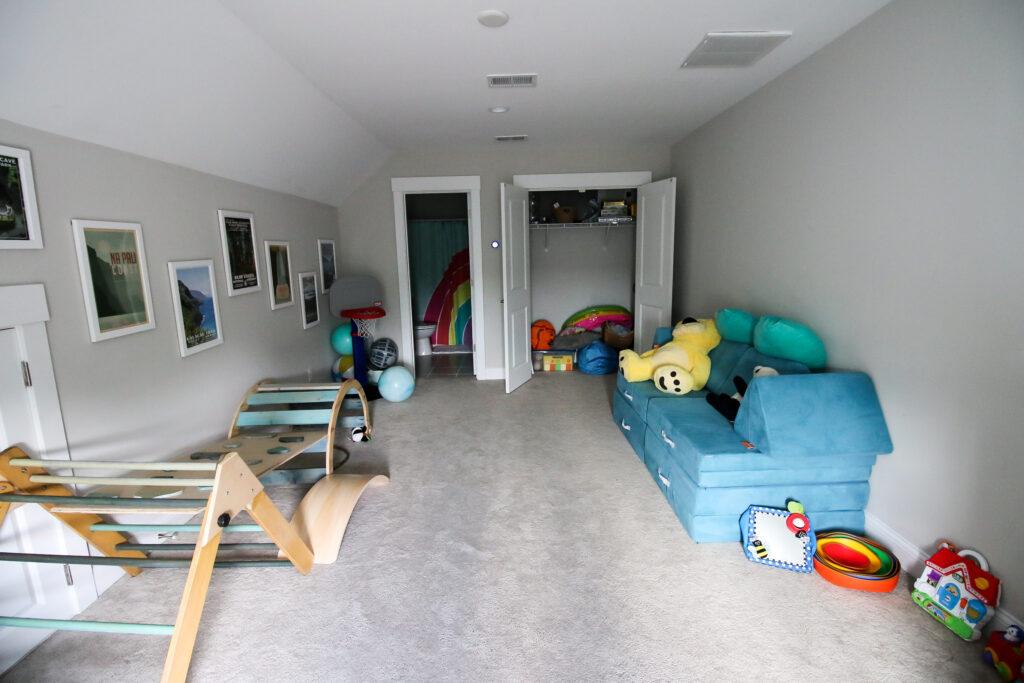 playroom closet before