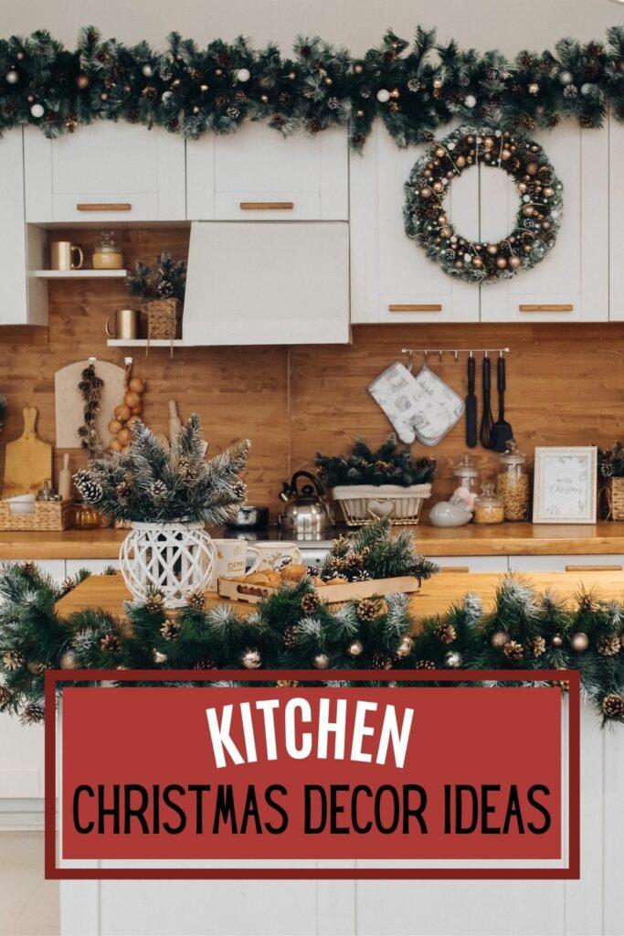 KITCHEN CHRISTMAS DECOR IDEAS