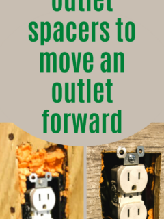 How to install outlet spacers - Charleston Crafted