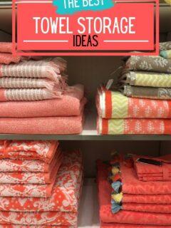 the best towel storage ideas