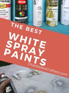 the best white spray paints