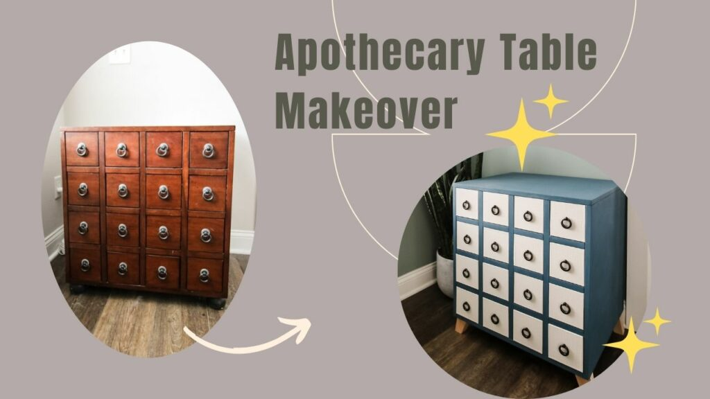 Apothecary Table Makeover Youtube Thumbnail