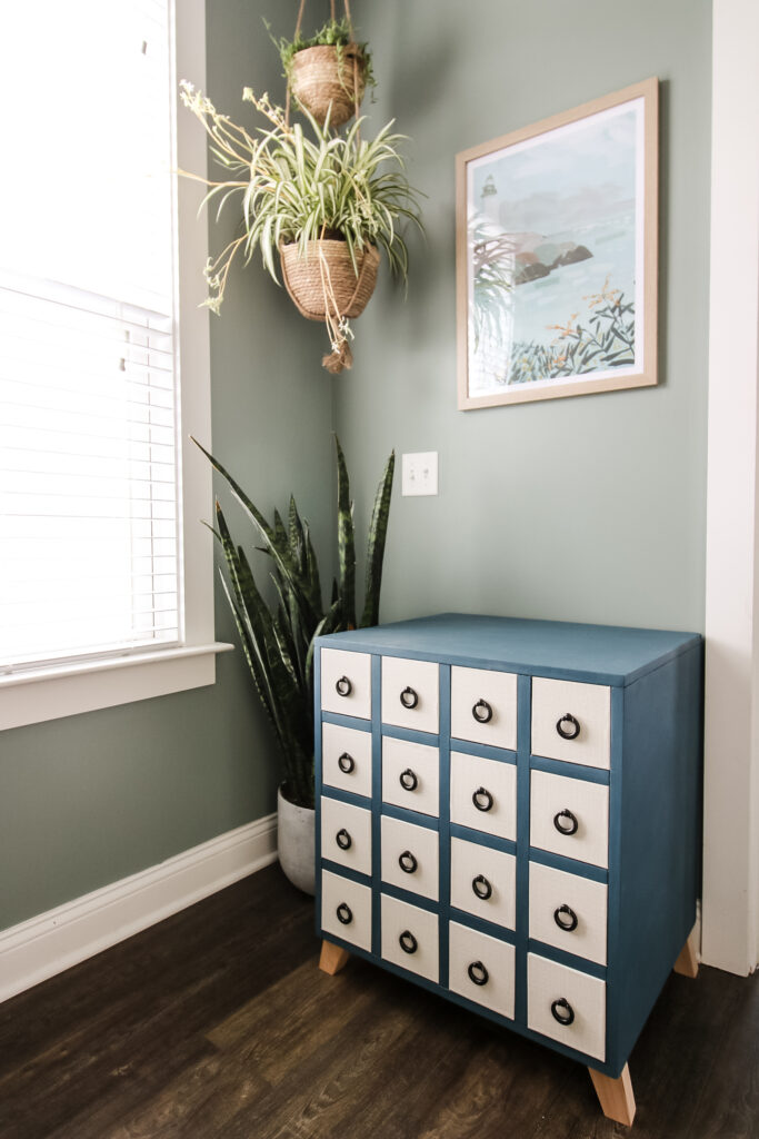 apothecary table makeover