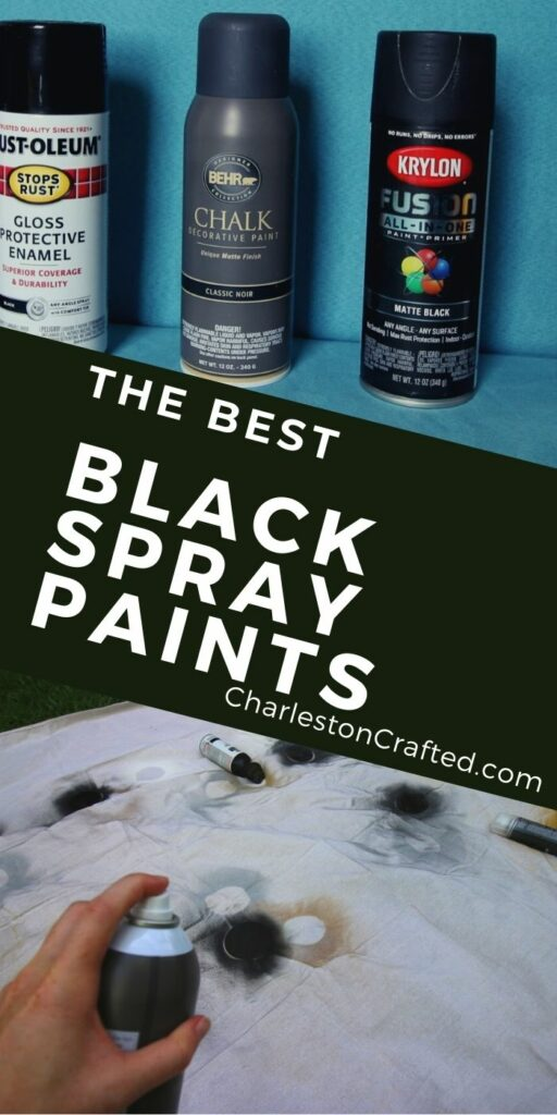 the best black spray paints