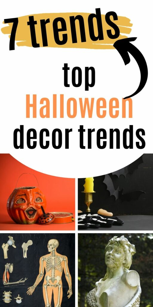 the top halloween decor trends