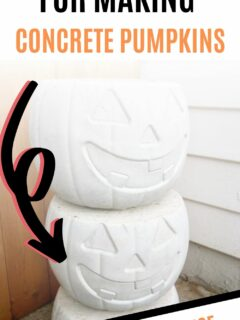 the best molds for making concrete pumpkins