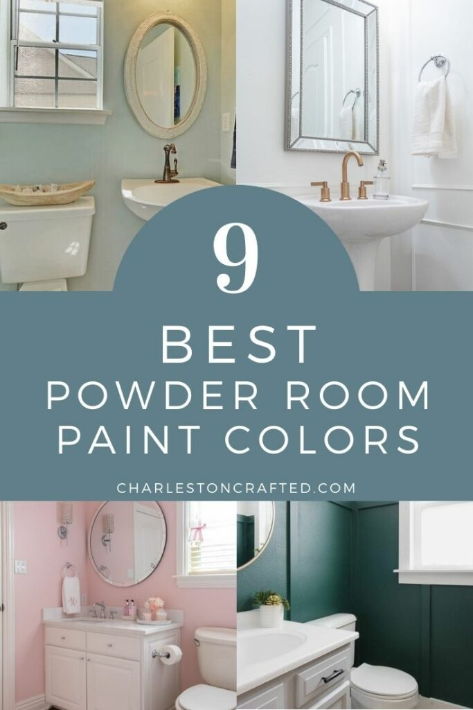 the best powder room paint colors