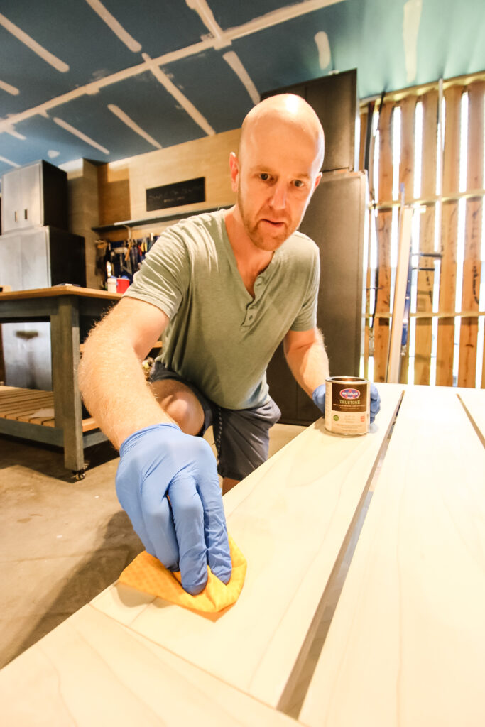 Adding Waterlox Tung Oil Finish to coffee table
