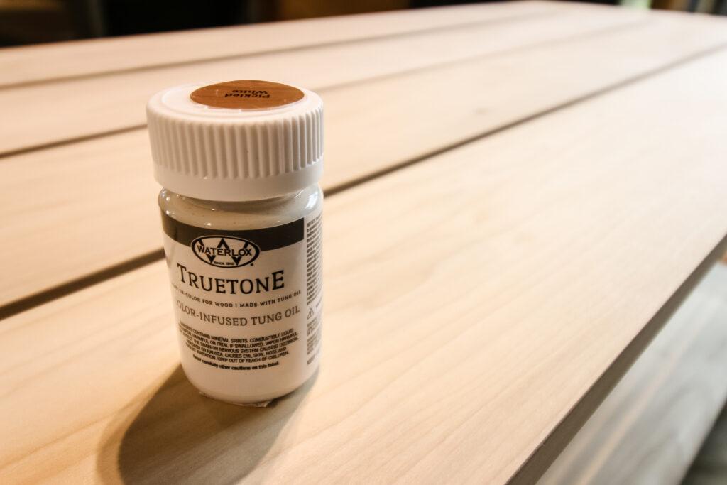 Waterlox TRUETONE color infused tung oil