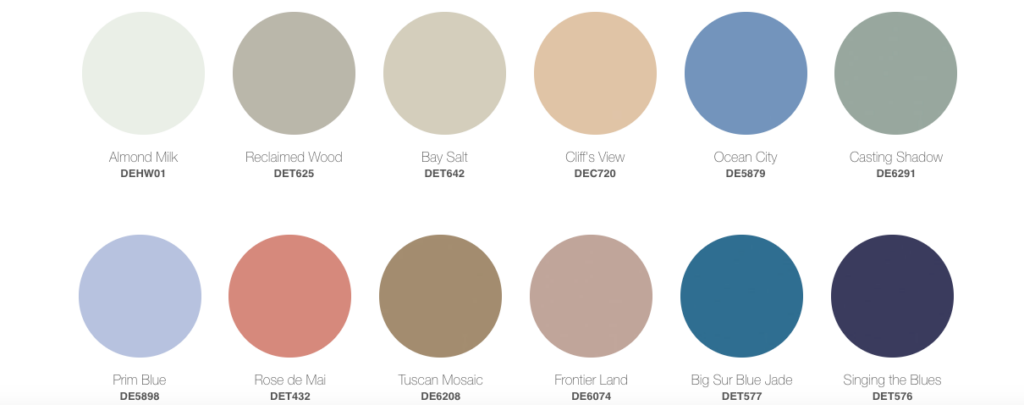 dunn edwards color trends 2022
