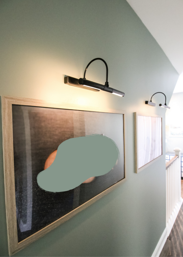 how to hang picture lights